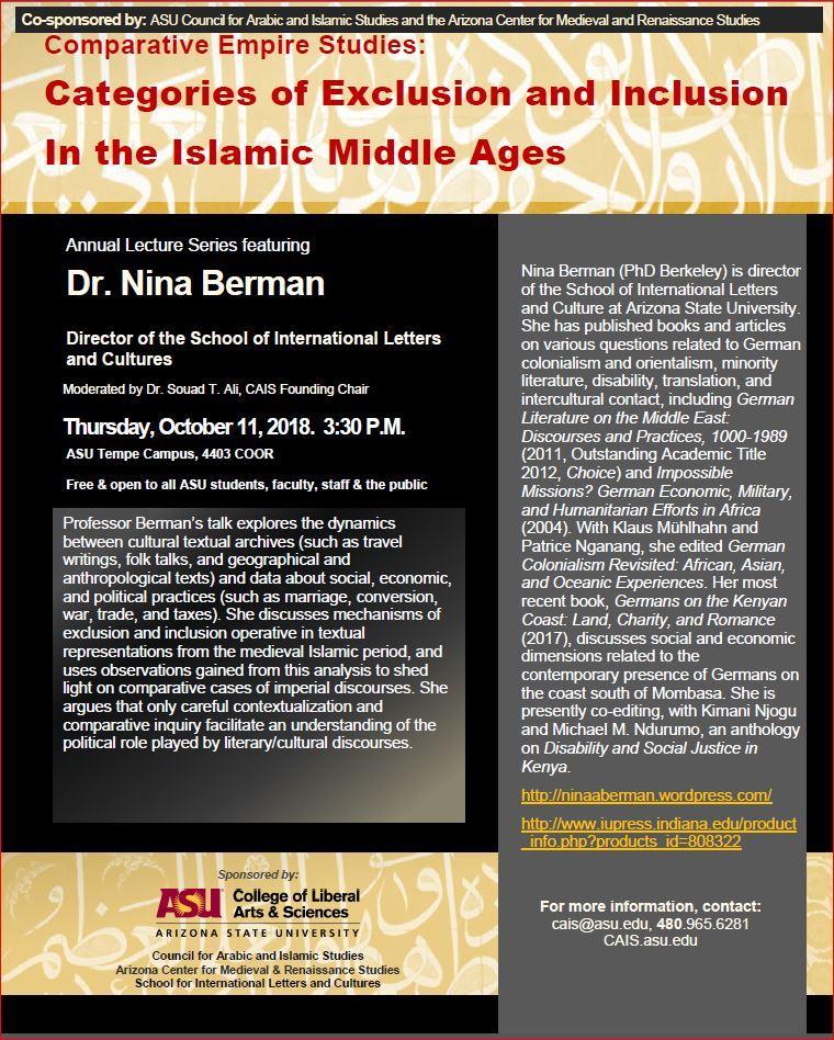 ASU Council for Arabic and Islamic Studies